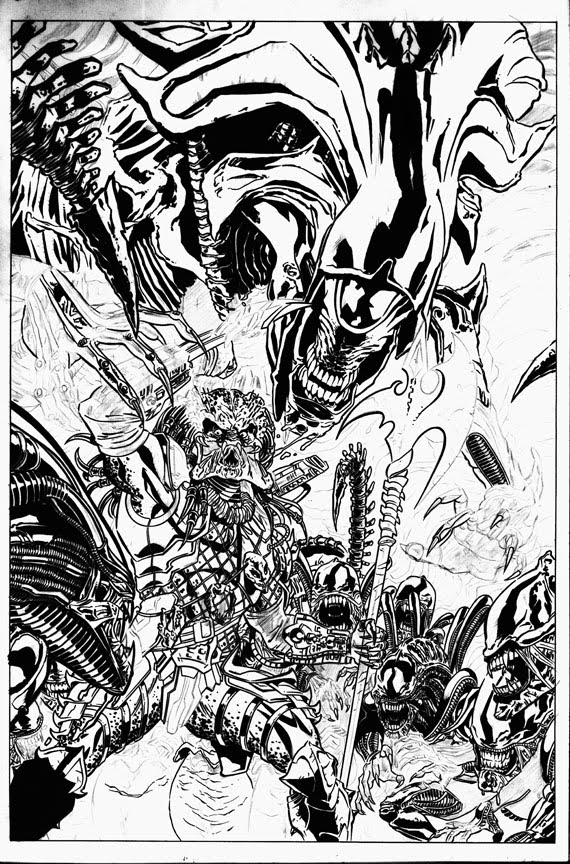 predator alien coloring pages - photo#30