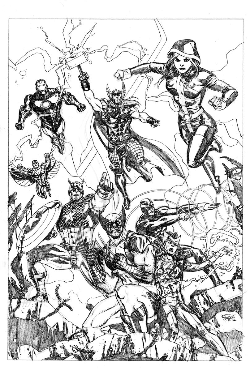Guarda tutti i disegni da colorare degli Avengers www ...